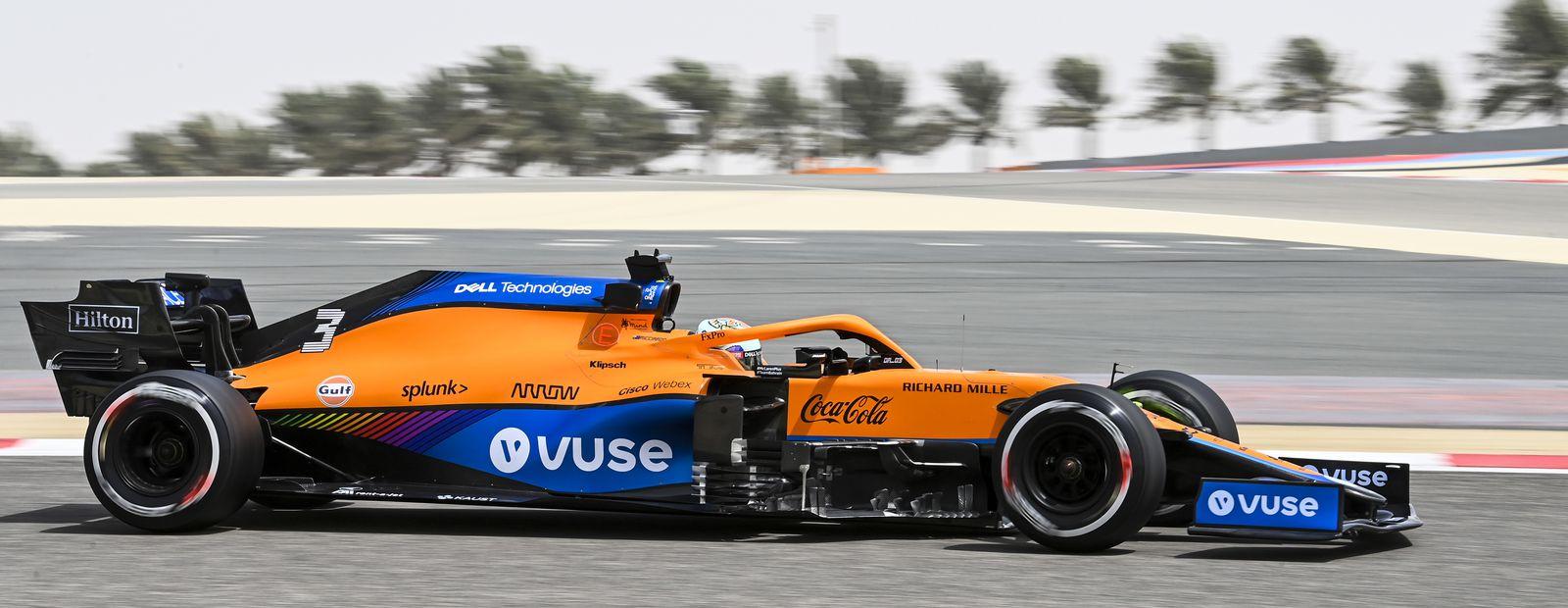 Bahrain test: Day 1
