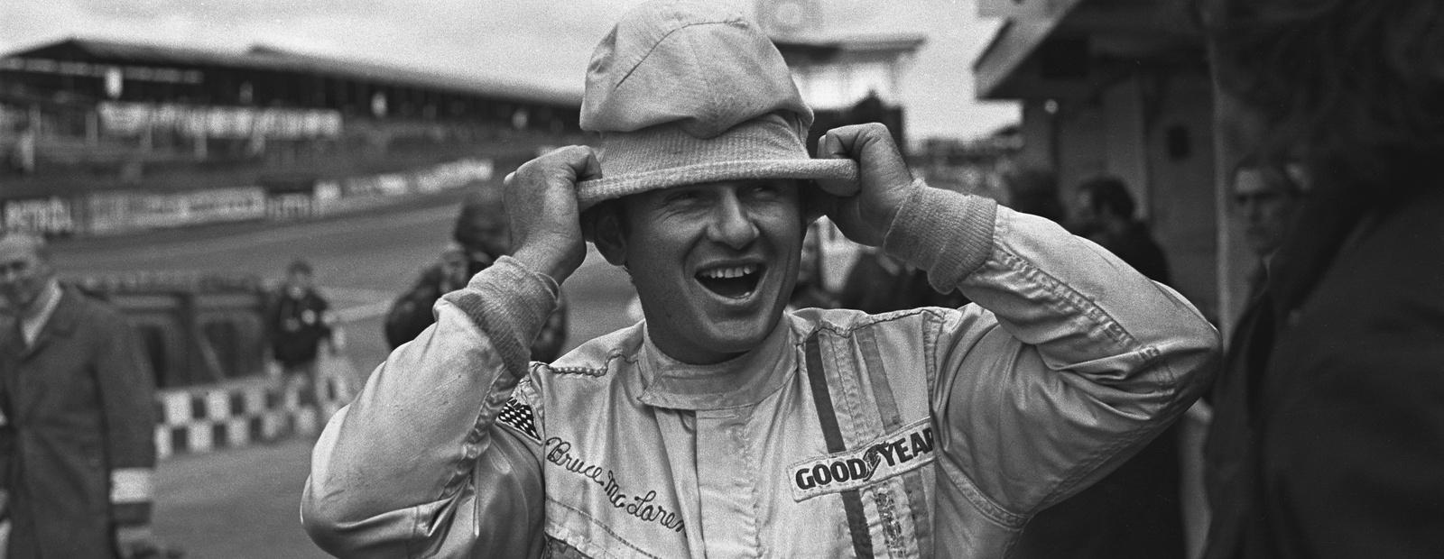 The legendary Bruce McLaren