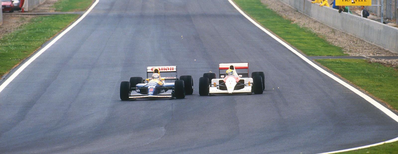McLaren's greatest wheel-to-wheel battles