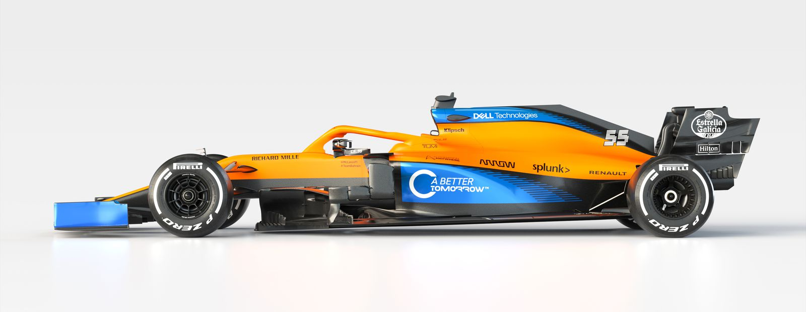 McLaren reveals the MCL35 to the world