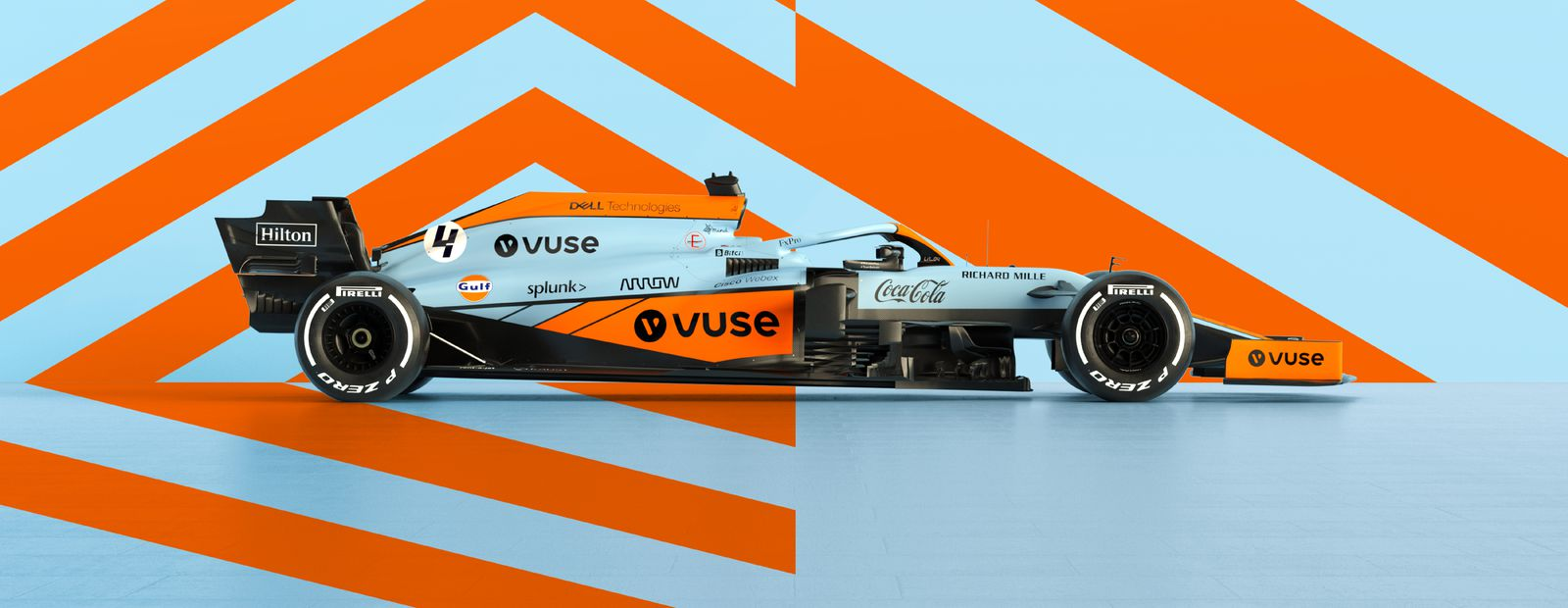 McLaren Racing and Gulf Oil International unveil limited edition Monaco Grand Prix livery