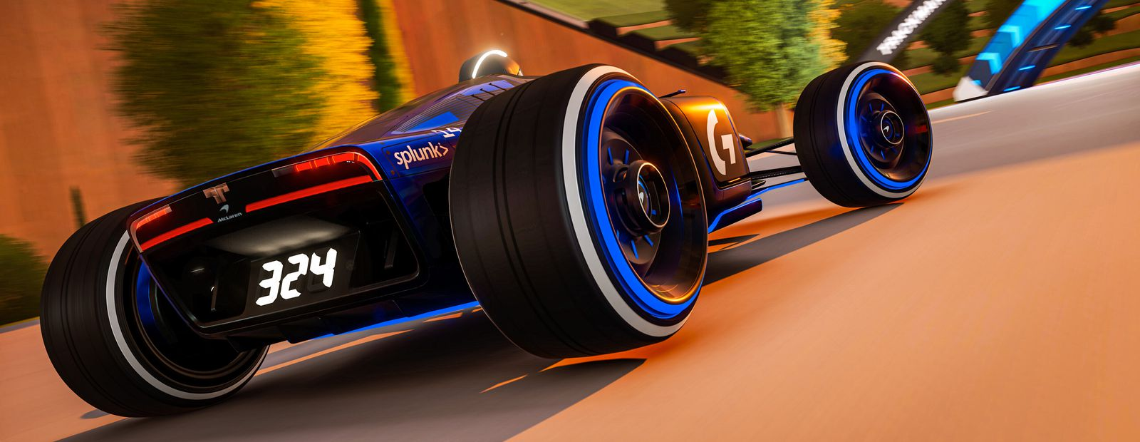 McLaren Shadow to compete in Trackmania