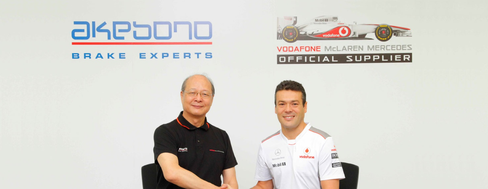 Akebono extend technical partnership with McLaren Formula 1