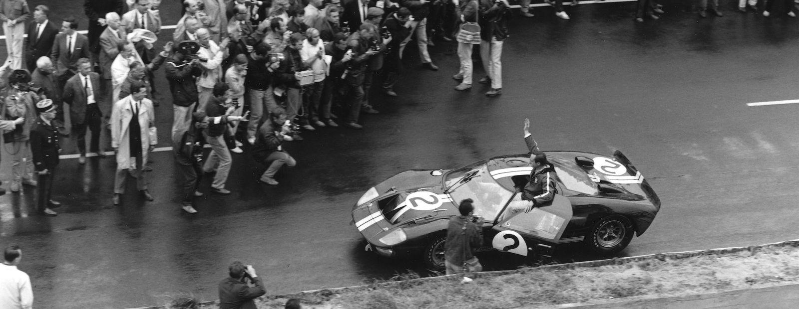 Bruce McLaren at Le Mans