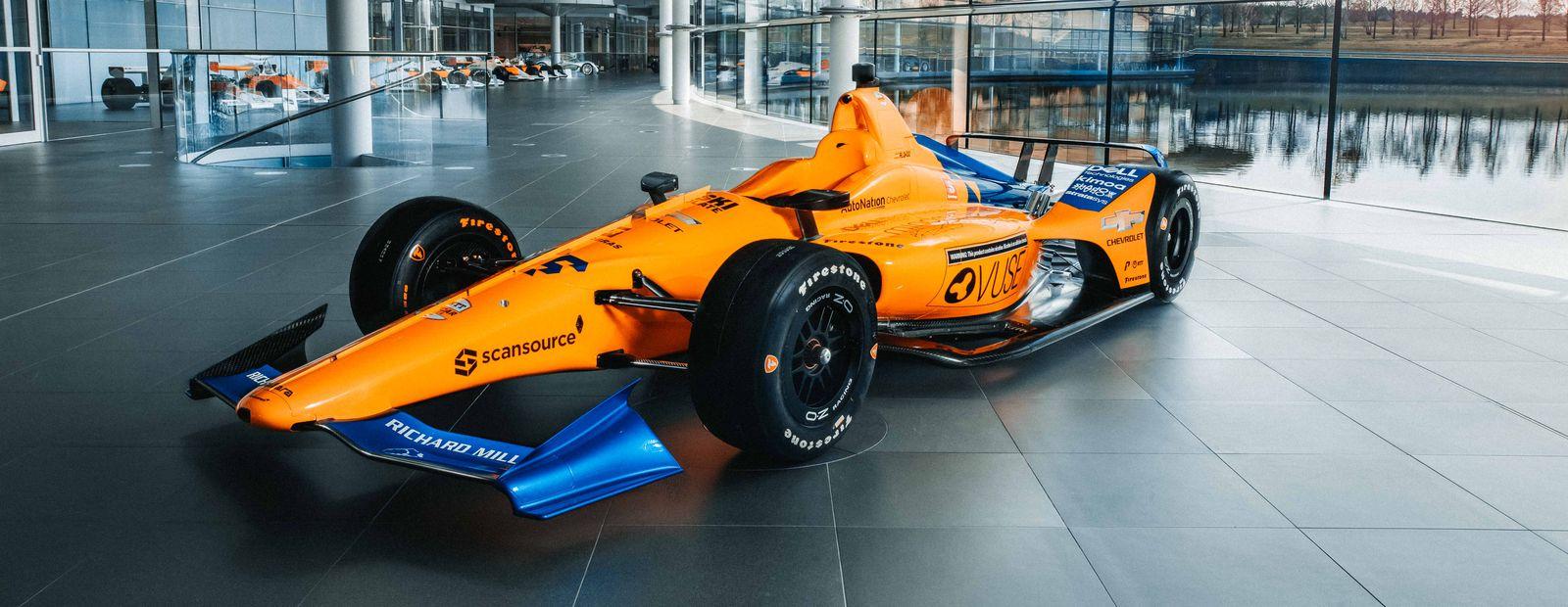 McLaren Racing desvela sus colores distintivos papa la Indy 500