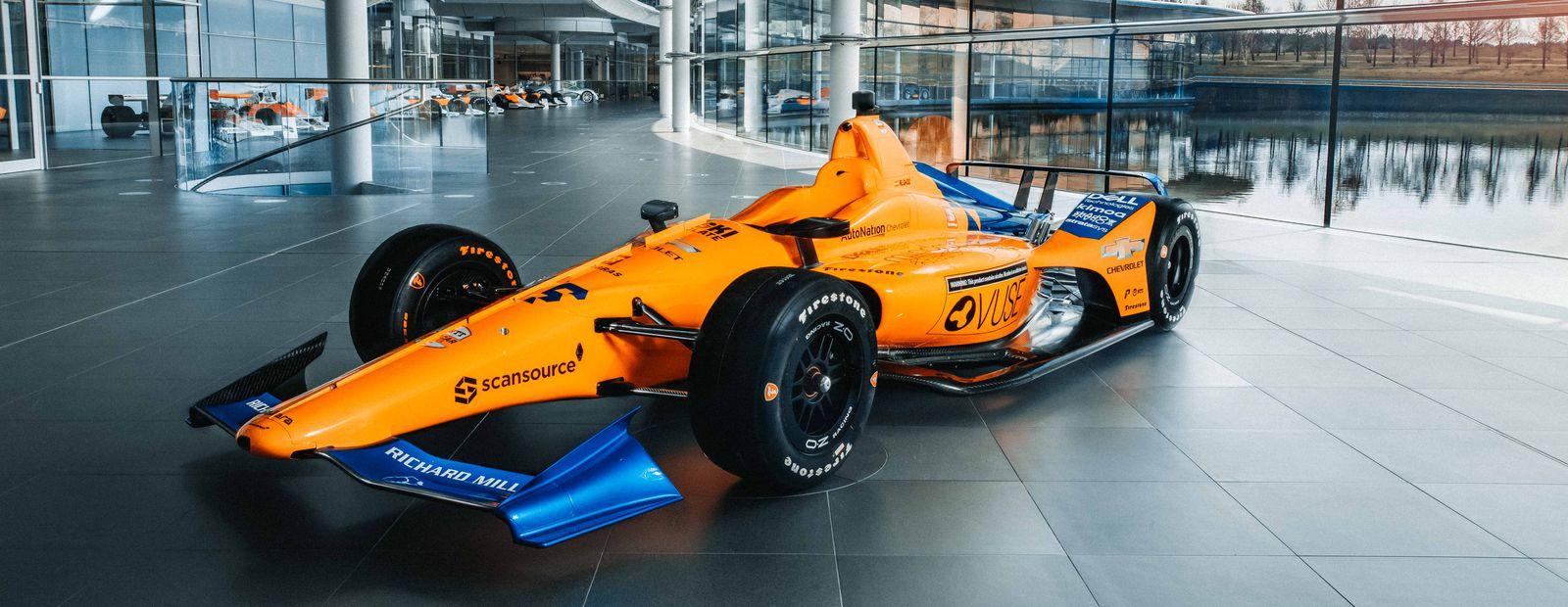 McLaren Racing unveils Indy 500 livery