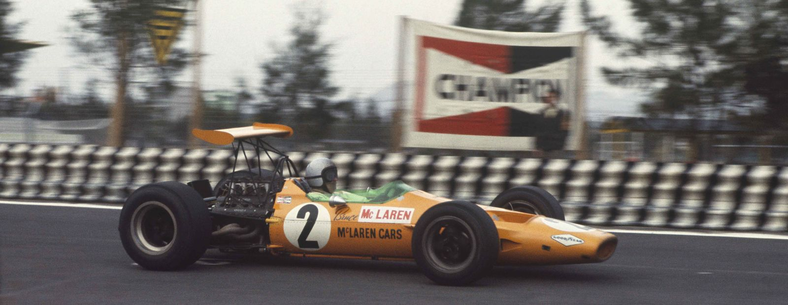 Bruce McLaren and the Mexico Grand Prix