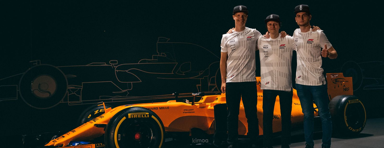 McLaren Shadow F1 esports team announced