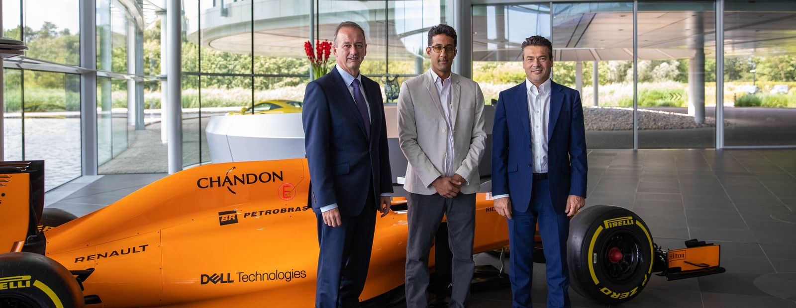 King Abdullah University of Science and Technology partners with McLaren Racing