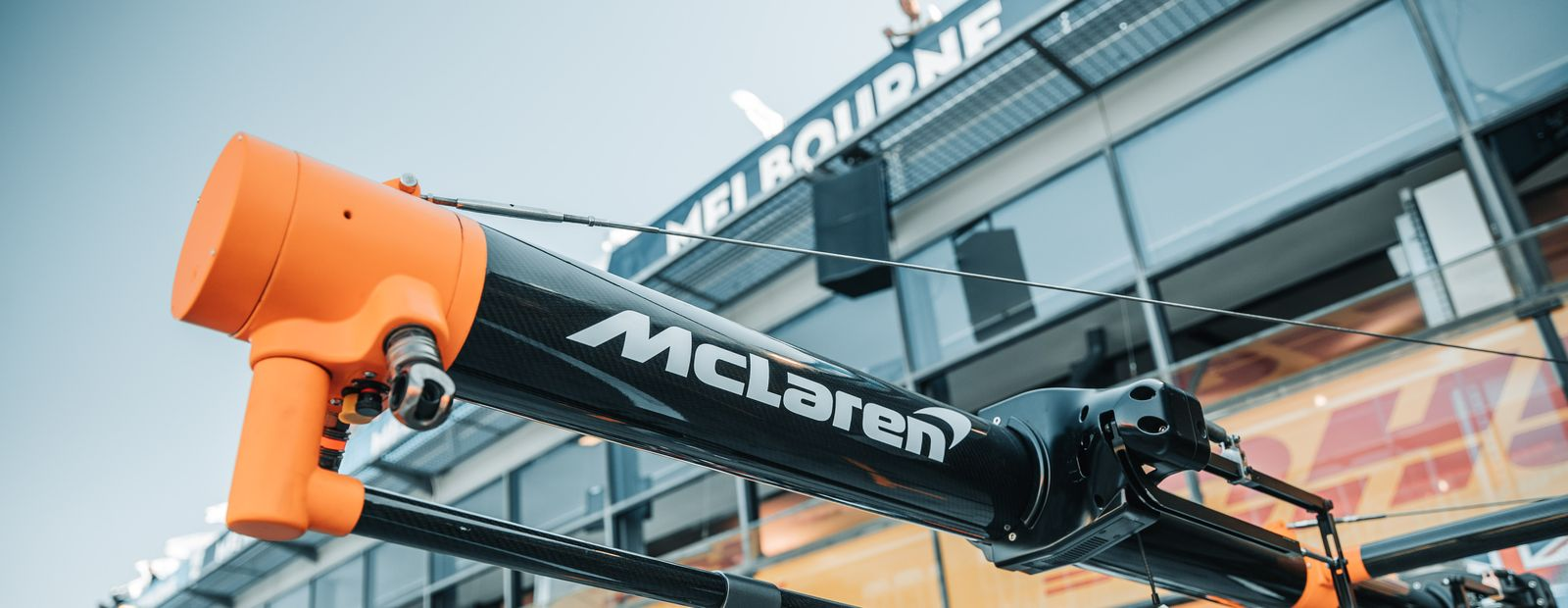 Message from McLaren