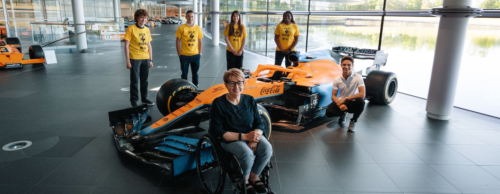 McLaren Racing supports Do It 4 Youth in partnership with the Duke of Edinburgh's Award