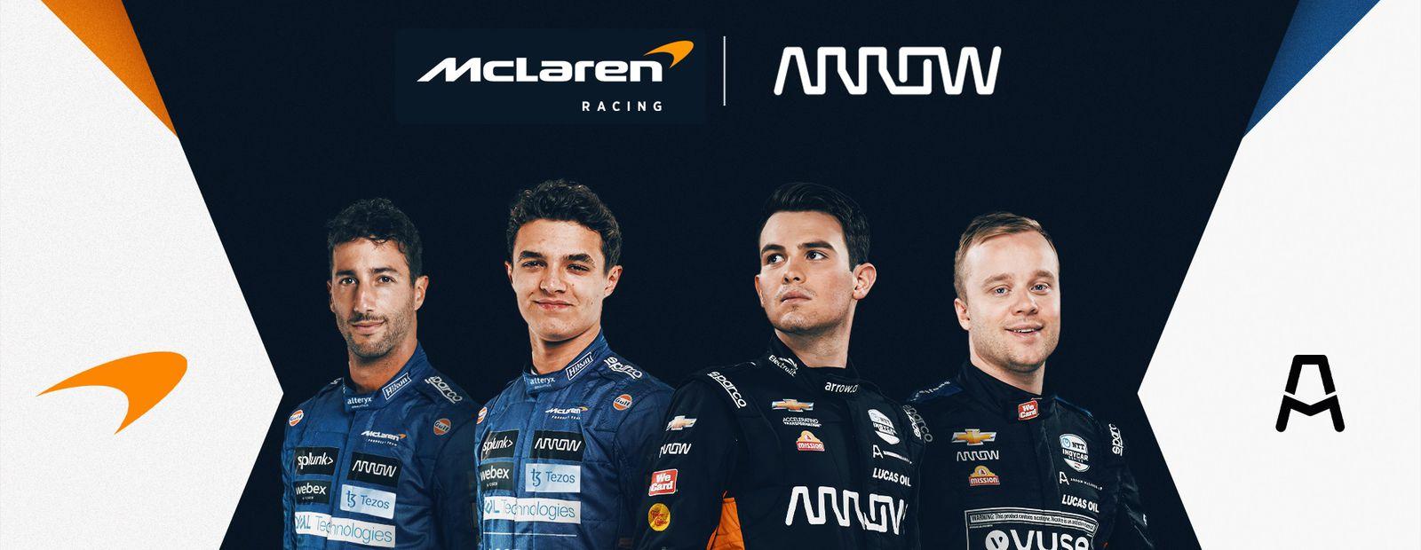 McLaren Racing and Arrow Electronics announce long-term partnership extension