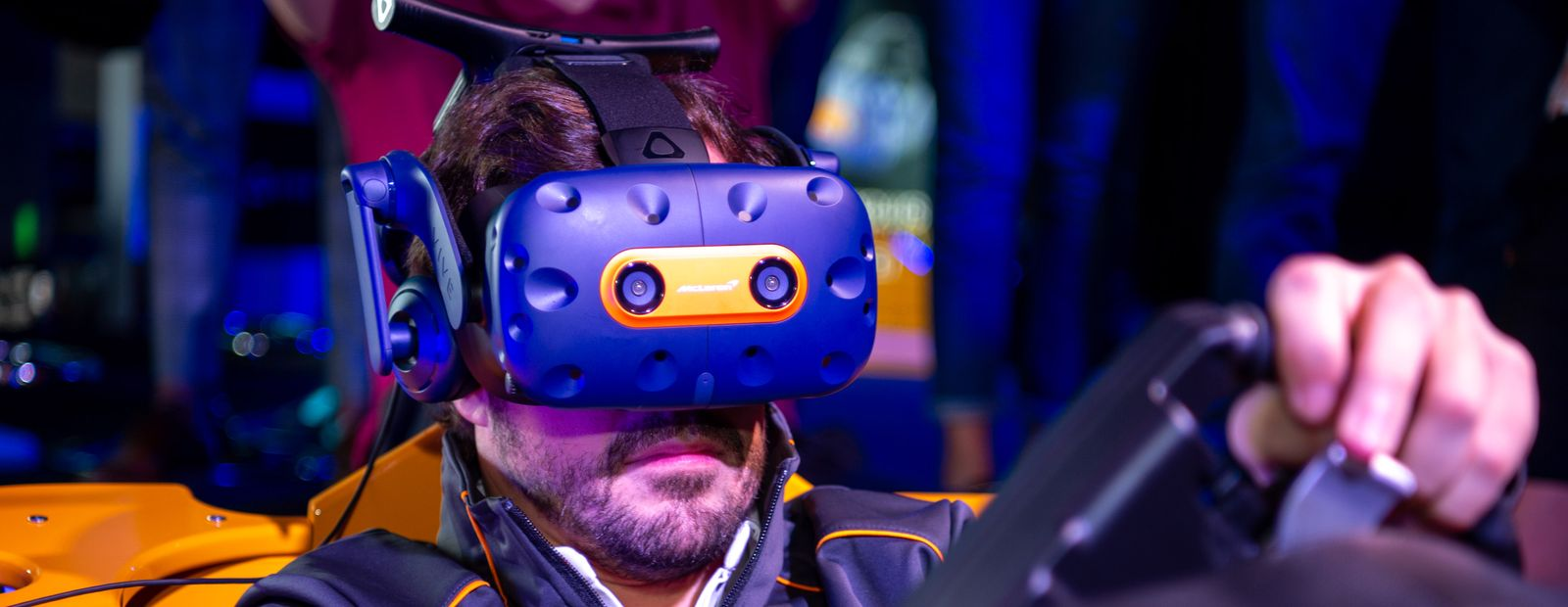 McLaren and HTC VIVE announce release of limited edition VIVE Pro headset