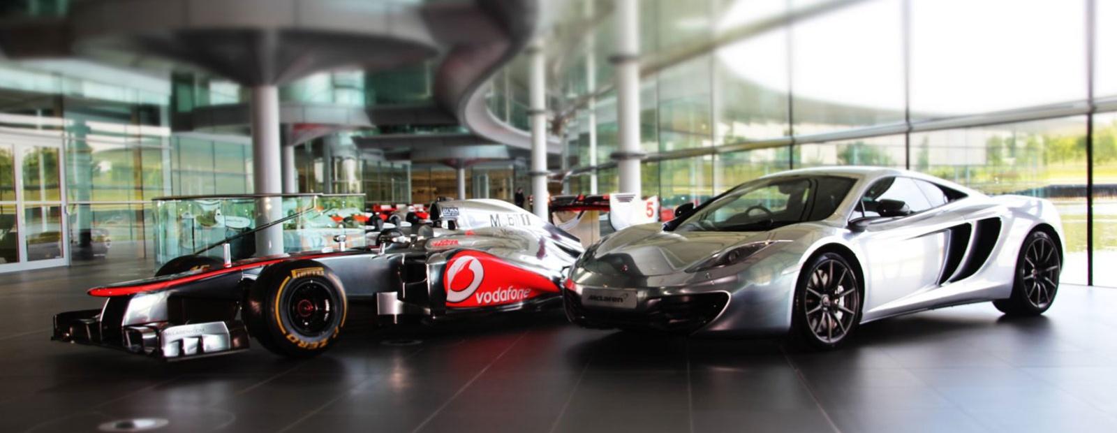 McLaren Formula 1 - New digital home for McLaren Automotive