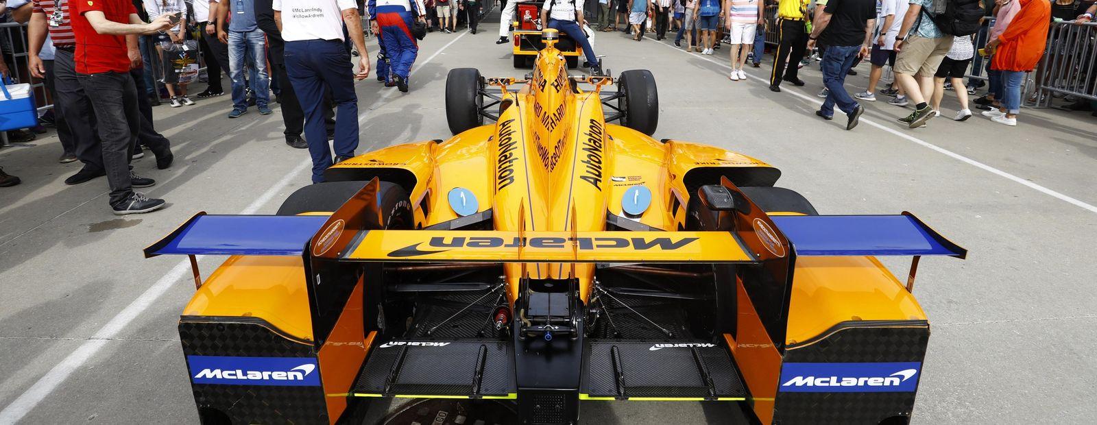 AutoNation vuelve a asociarse con McLaren Racing para las 500Millas de Indianápolis