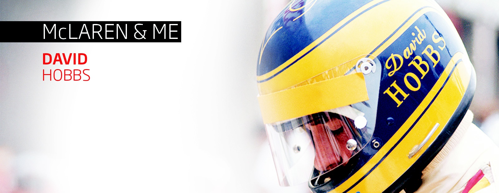 McLaren & Me: David Hobbs