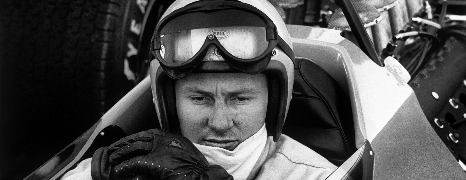 mclaren formula 1 - bruce's death: courage in the face of adversity