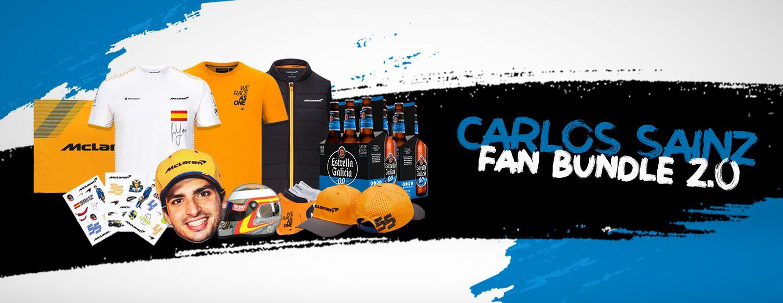 ¡Gane el lote de productos para aficionados de Carlos Sainz (2.0)!