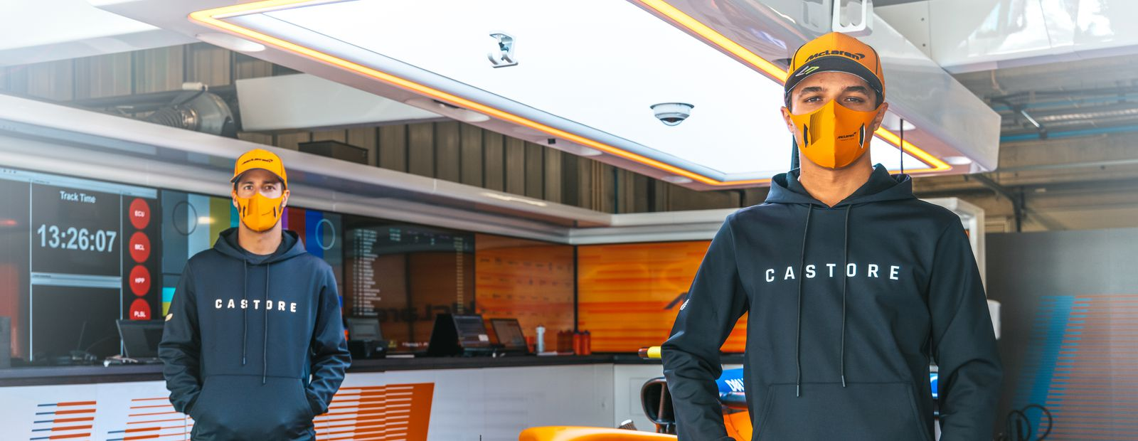 Castore becomes Official Team Apparel and Sportswear Partner for the McLaren Formula 1 team