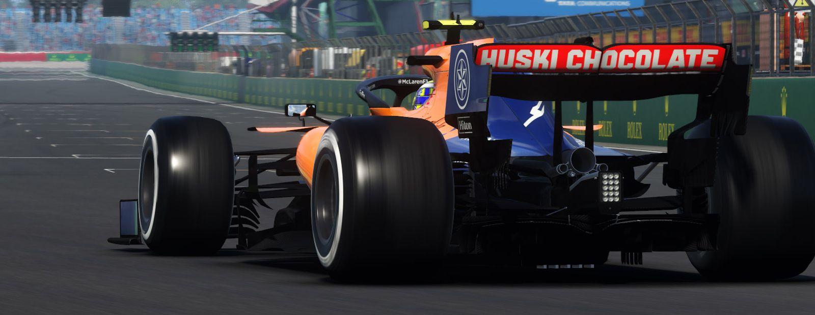 McLaren Shadow competirá en la serie e-sports pro de F1 de 2020