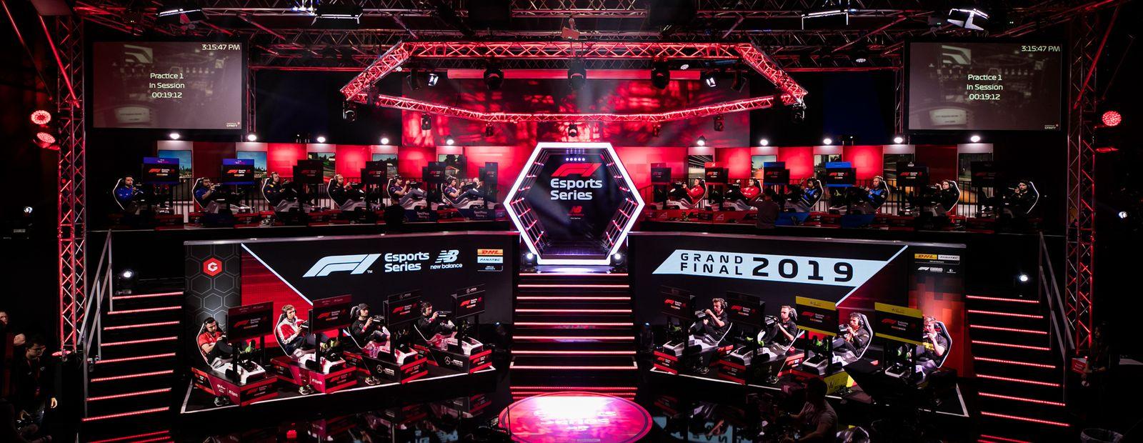 F1 Esports Pro Series: report
