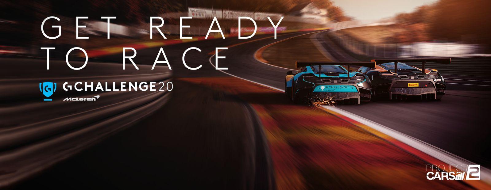 Logitech G and McLaren announce Logitech McLaren G Challenge 2020