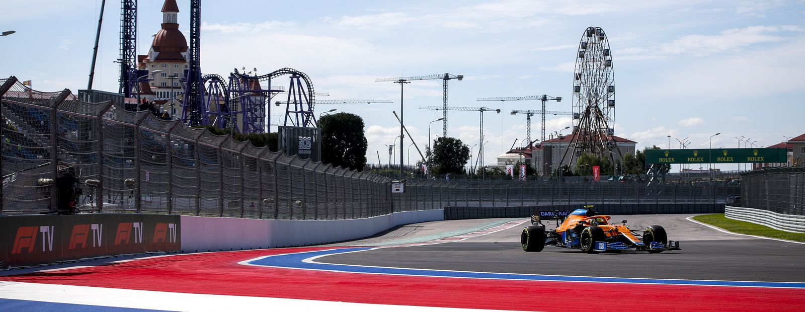 2021 Russian Grand Prix – Free Practice