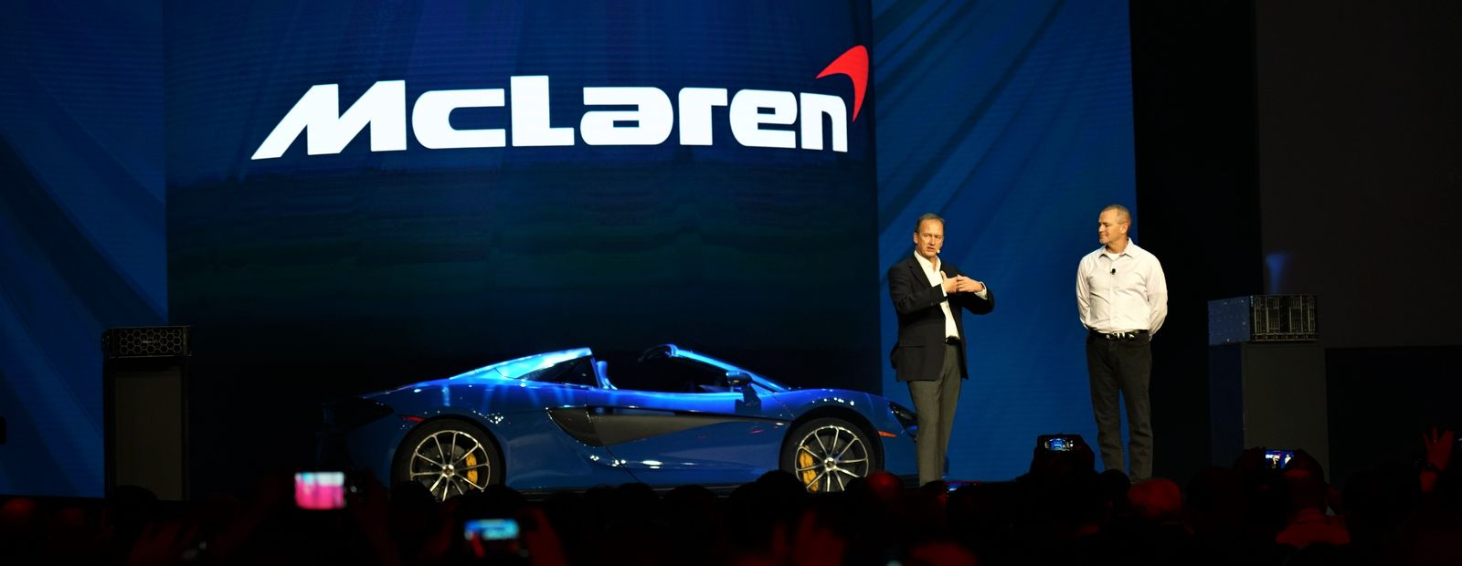 McLaren at Dell Tech World