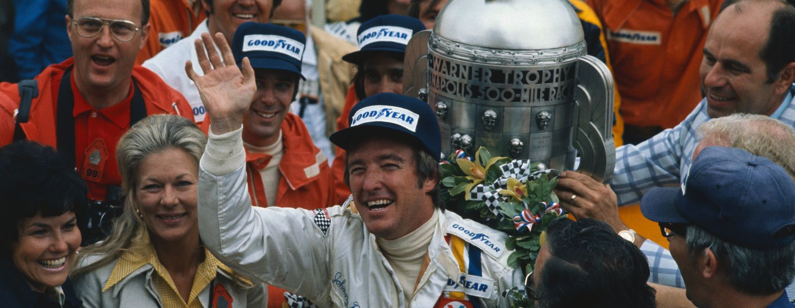 Johnny Rutherford returns to McLaren for the month of May