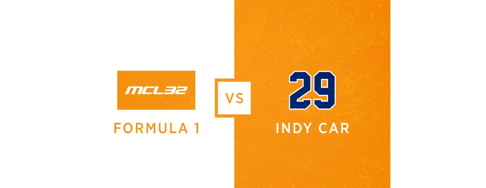 McLaren Honda MCL32 vs McLaren-Honda-Andretti #29