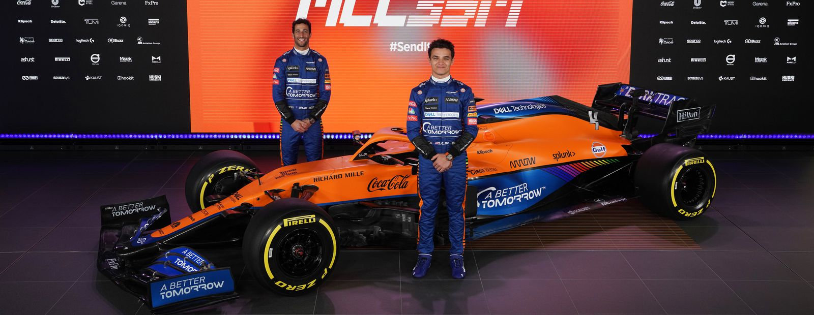 How Darktrace kept the McLaren team launch secure with cyber AI