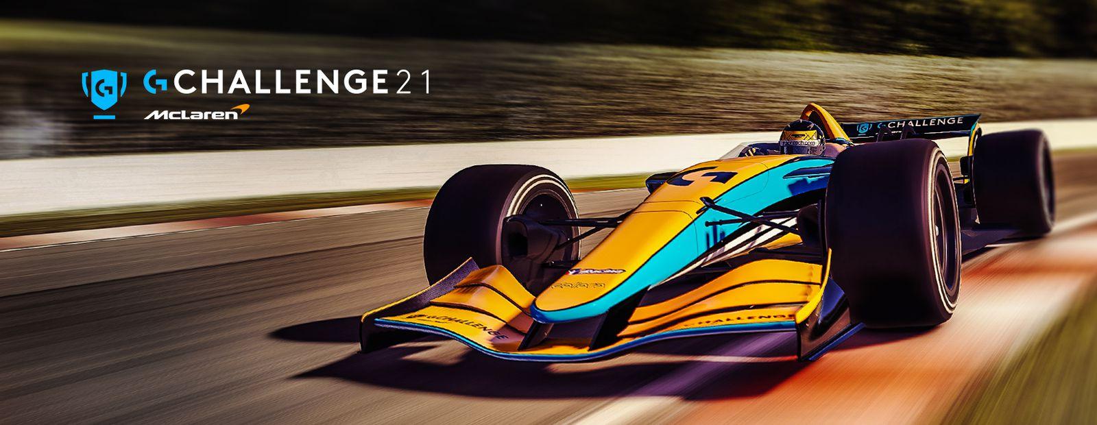 McLaren Racing and Logitech G announce return of Logitech McLaren G Challenge for 2021