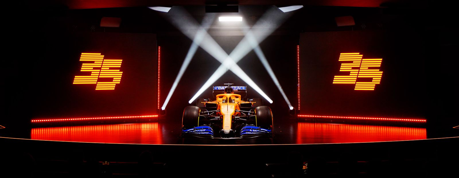 McLaren MCL35 car launch