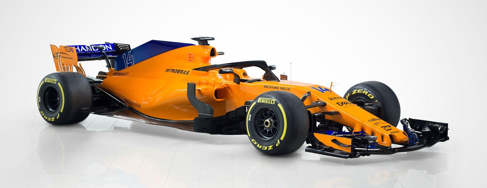 Mclaren Formula 1 Mclaren Unveils Striking 2018