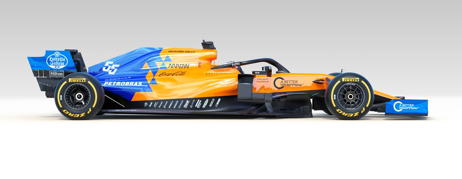 McLaren unveils MCL34 alongside new 2019 driver line-up