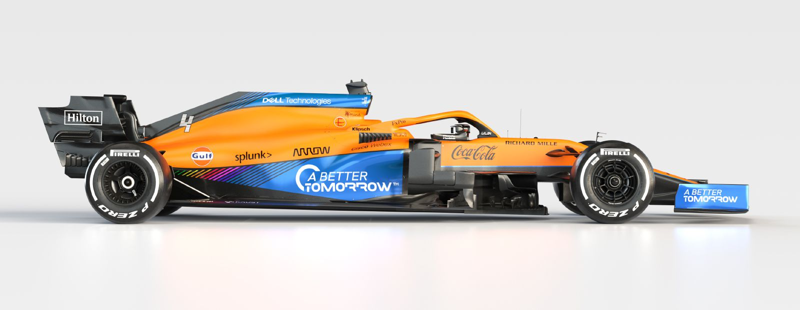 McLaren presents 2021 driver line-up and introduces the MCL35M