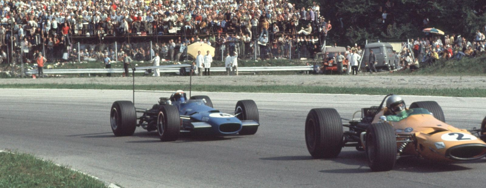 The history of Bruce and the Italian Grand Prix