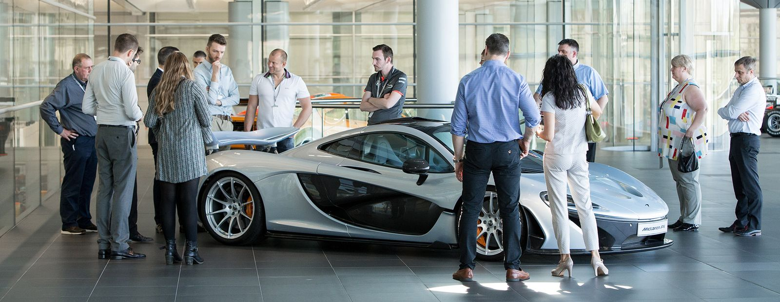 mclaren formula 1 - mclaren technology centre tour: may 25th