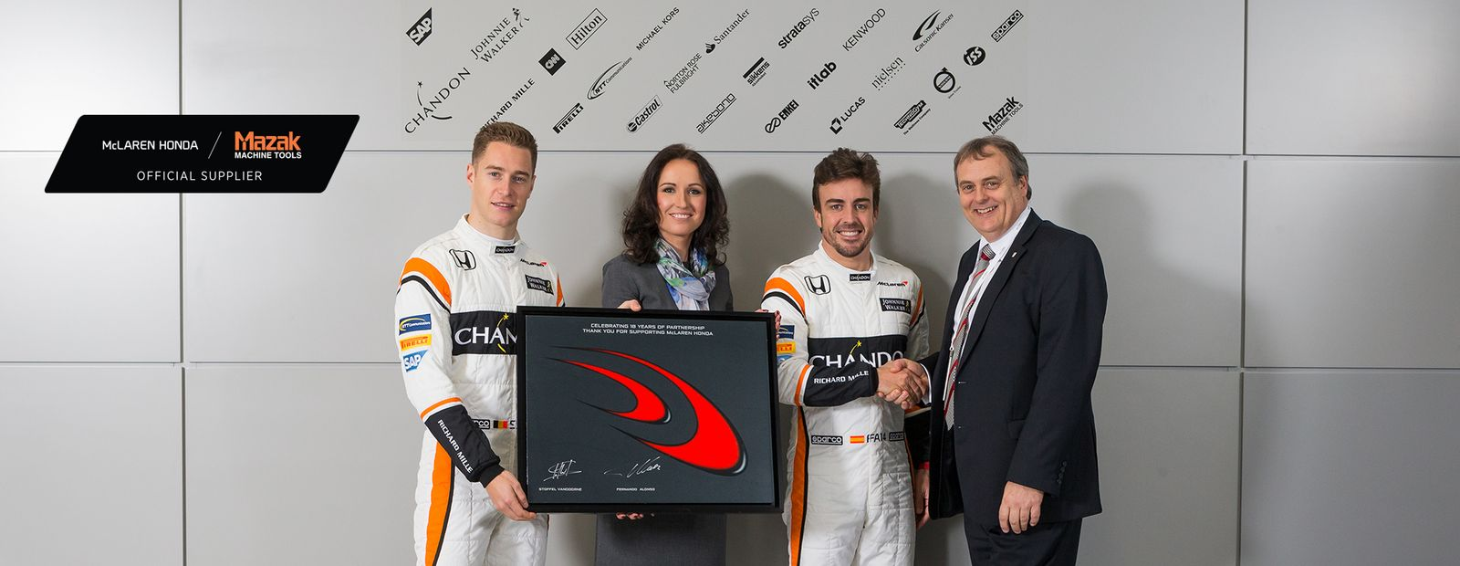 McLaren-Honda extends exclusive machine tool partnership with Mazak