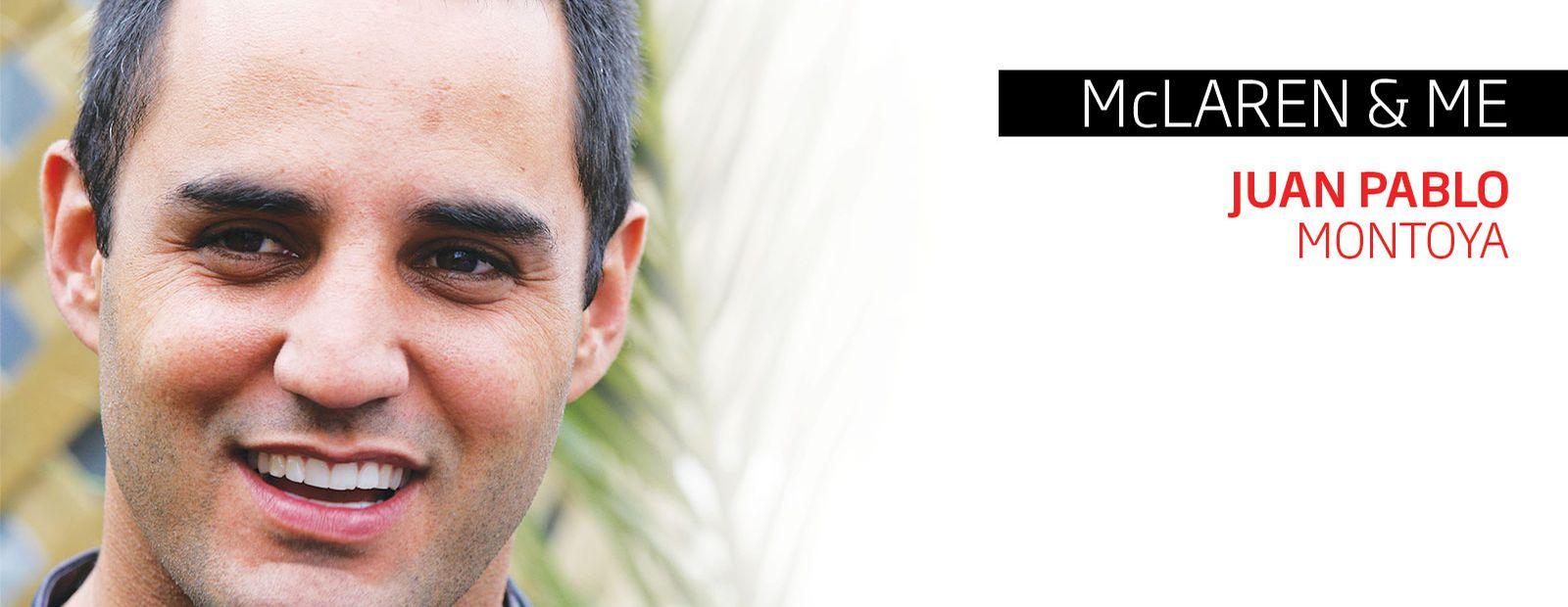 McLaren & Me: Juan Pablo Montoya