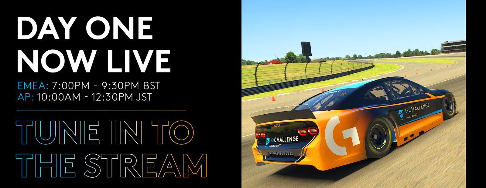 Logitech McLaren G Challenge: Round 2
