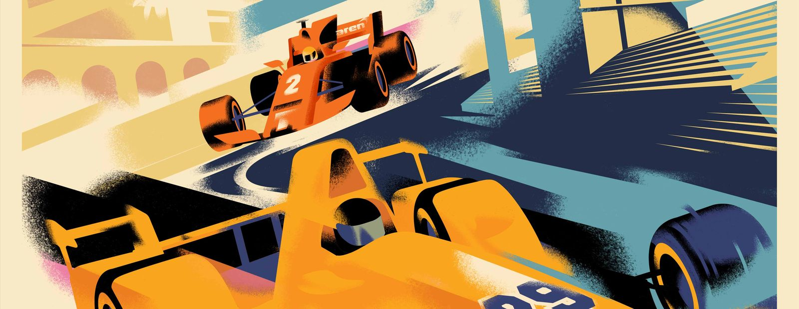 McLaren's Race of Two Worlds