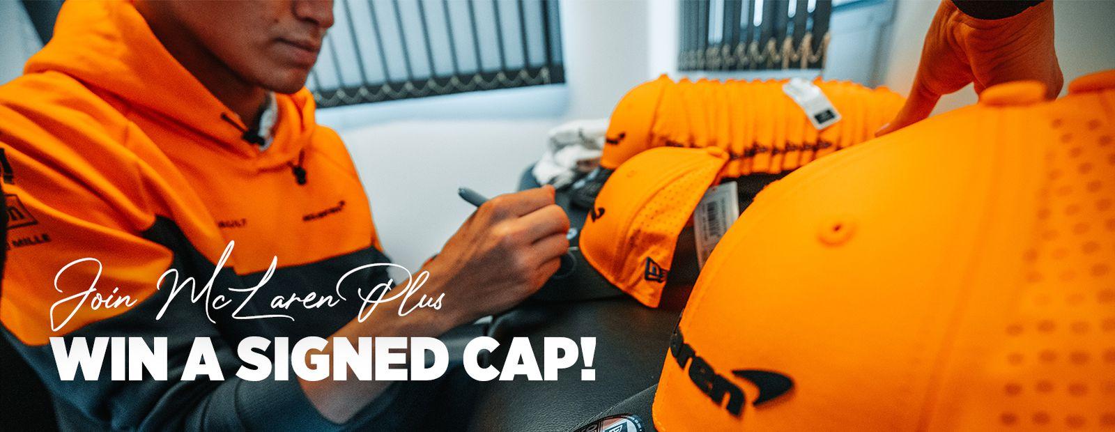 Win a signed cap