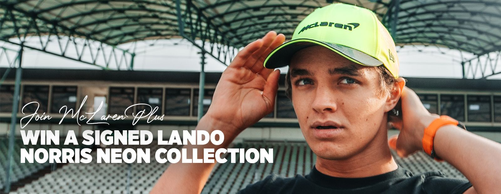 Win a signed Lando Norris Neon Collection