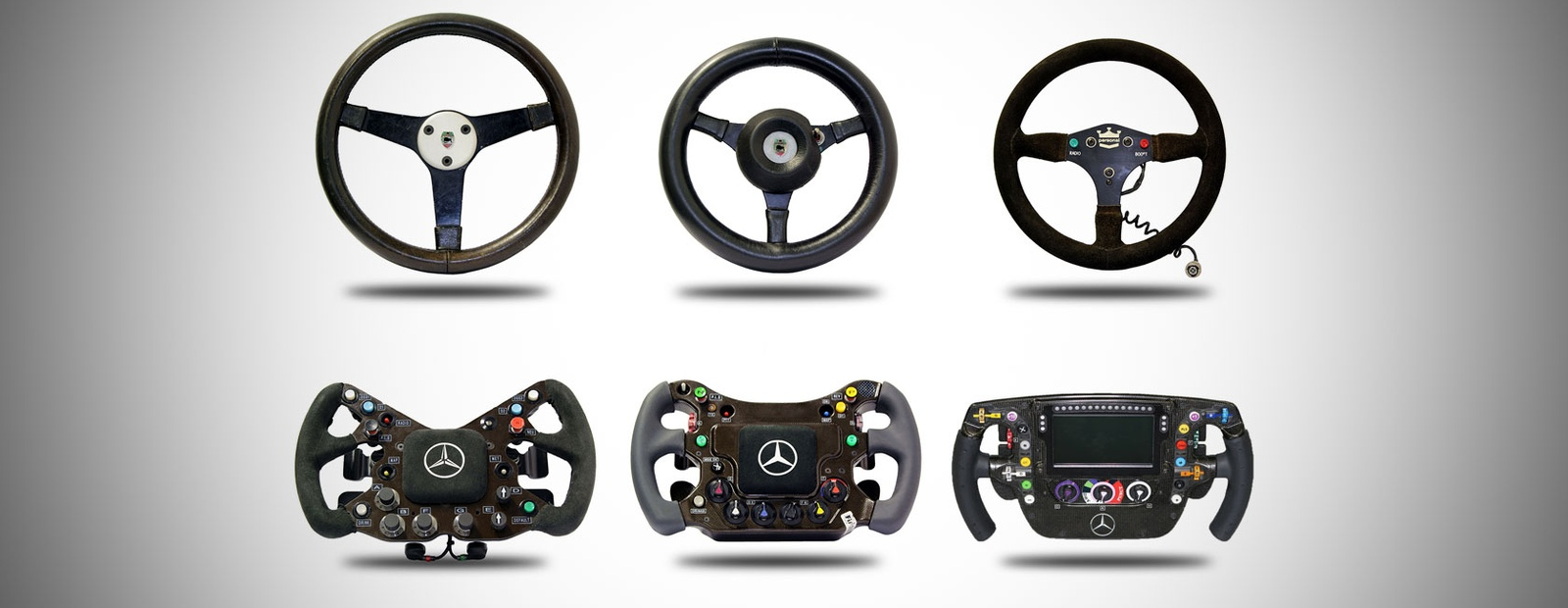 Mclaren Formula 1 Through The Ages Steering Wheels