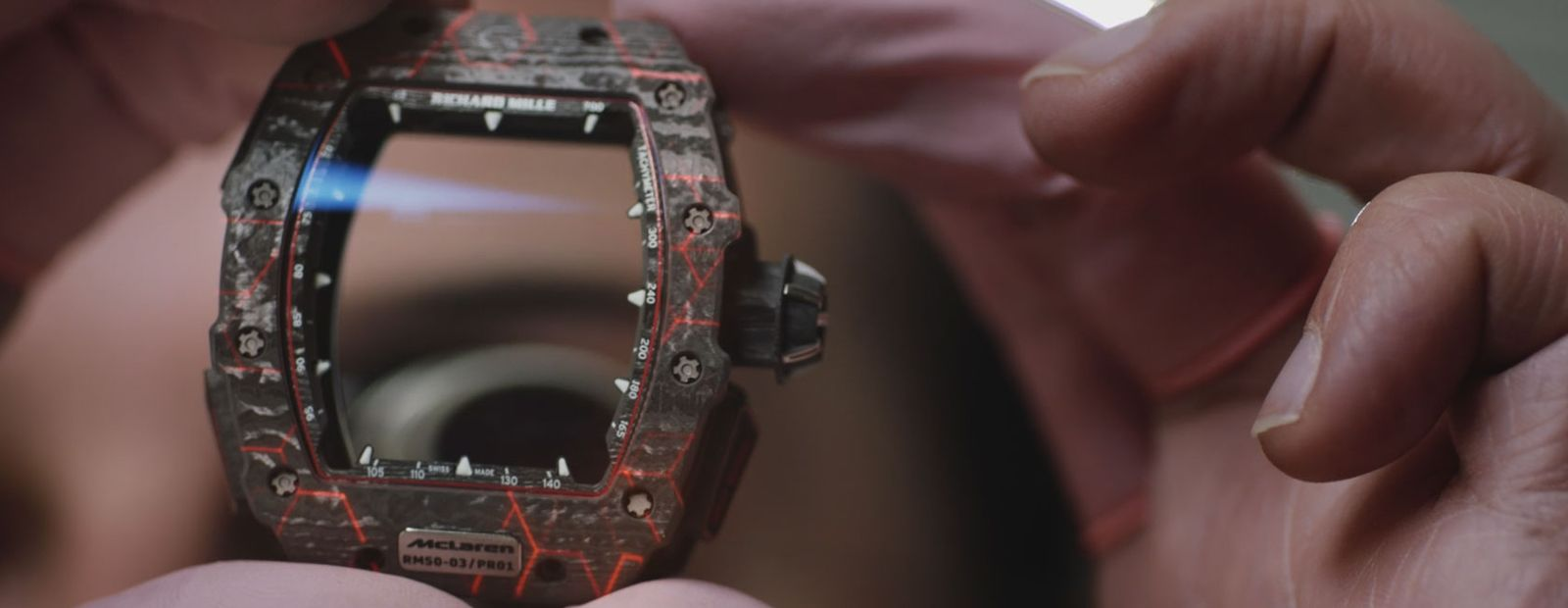 A racing machine on the wrist: the story of graphene