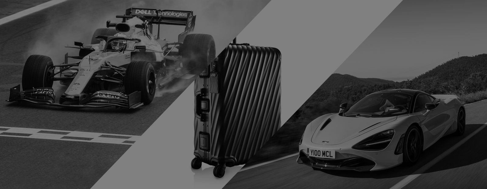McLaren announces TUMI as official luggage partner
