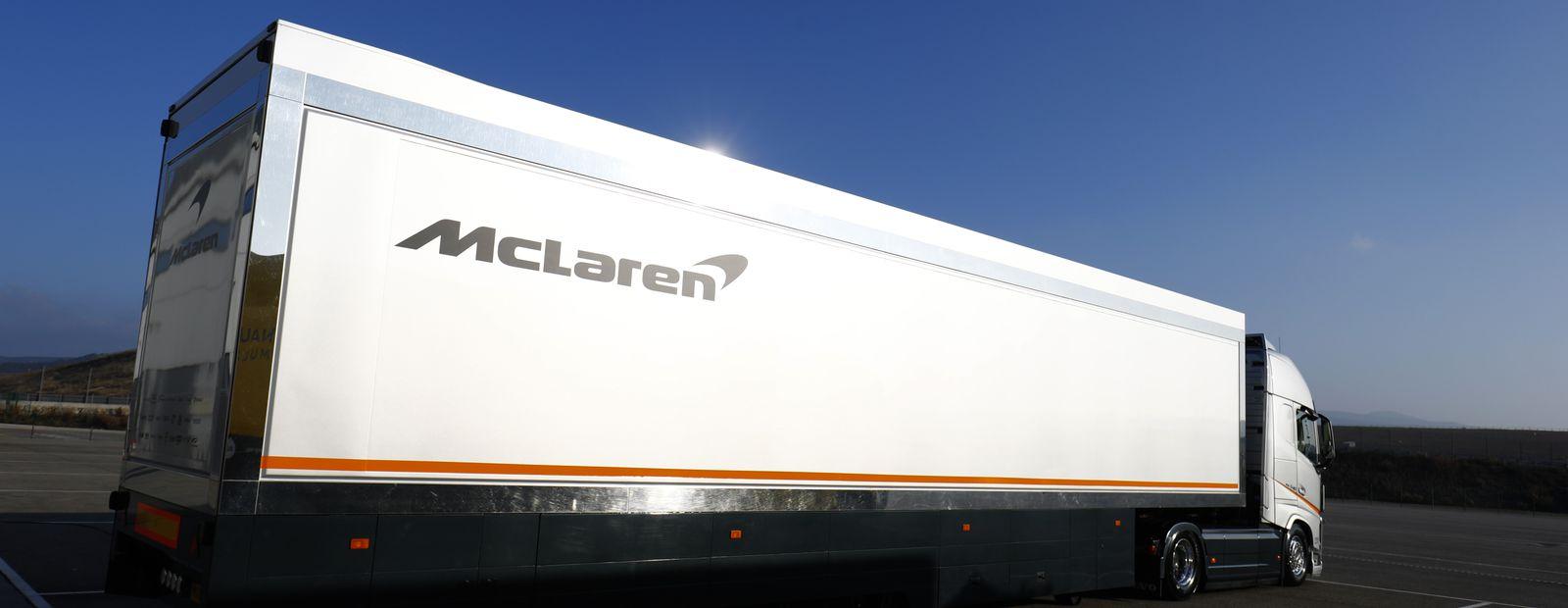 Mclaren Formula 1 Volvo Trucks