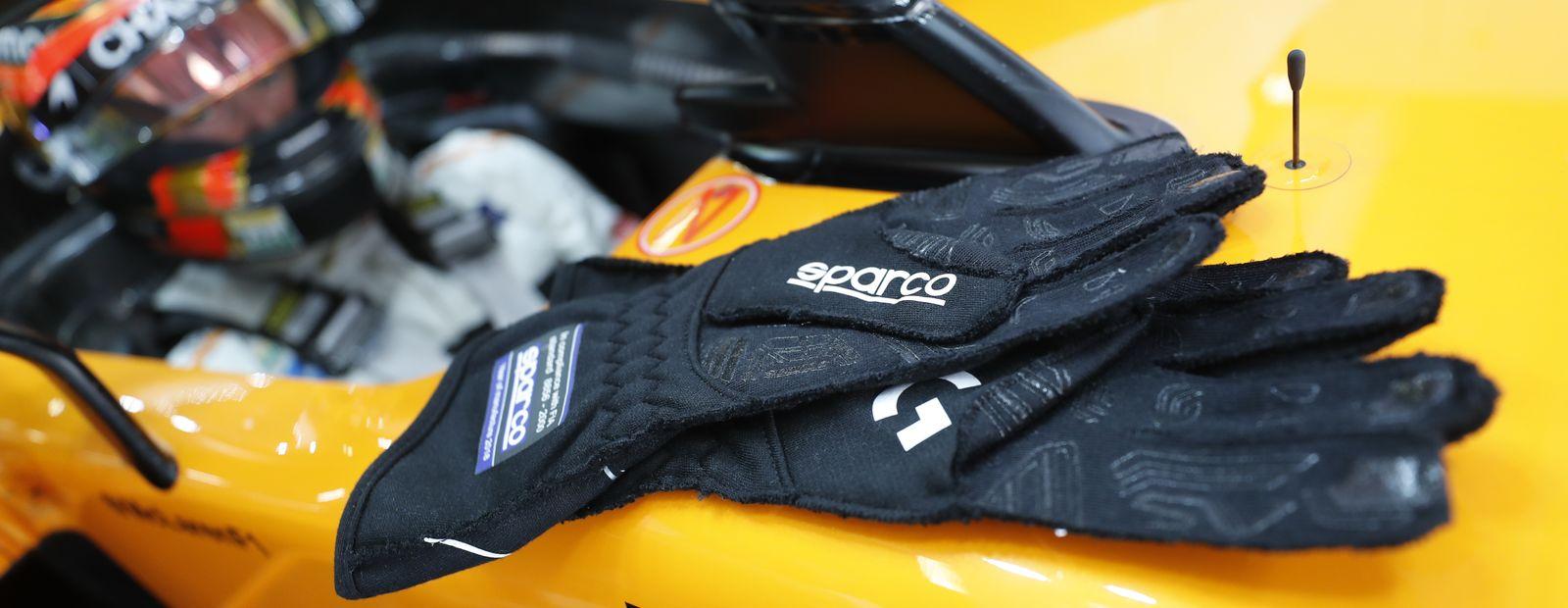 McLaren and Sparco extend partnership