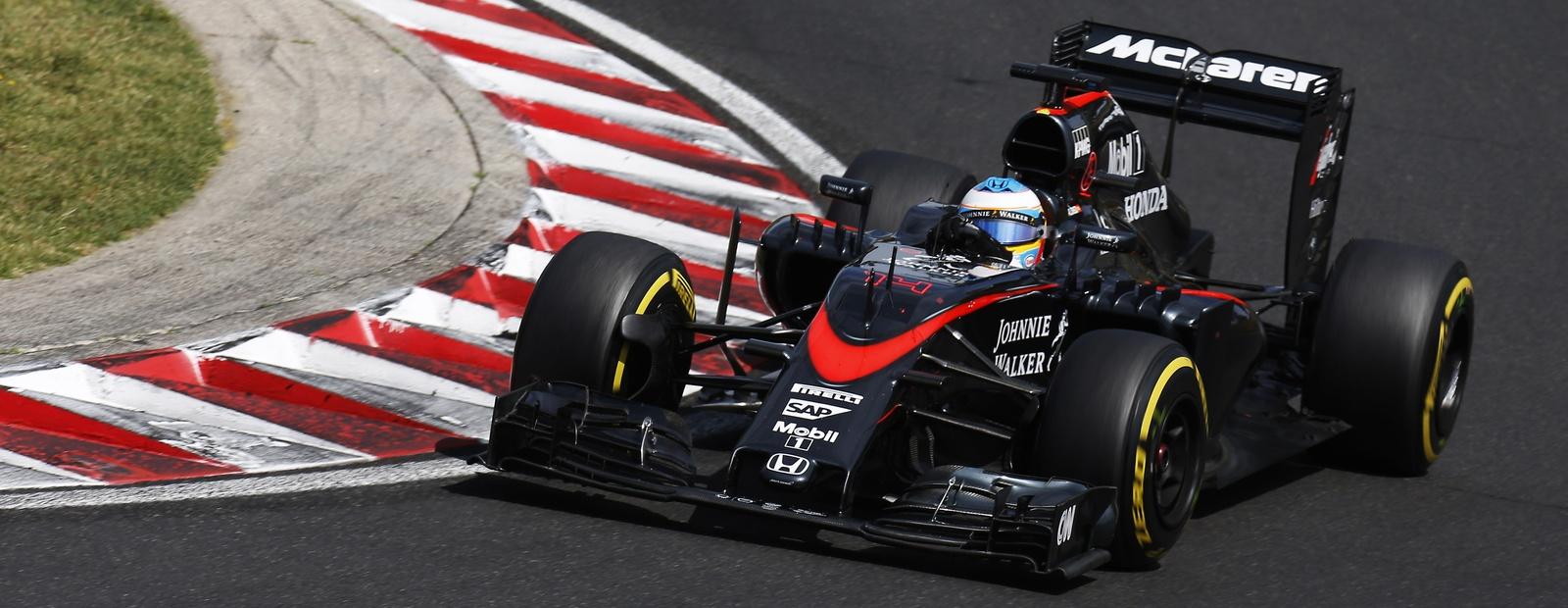 mclaren formula 1 - 2015 hungarian grand prix race report